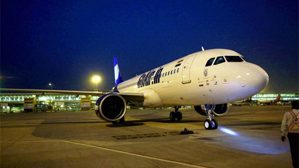 GoAir flight catches fire after foreign object damage aircraft during takeoff; all passengers safe