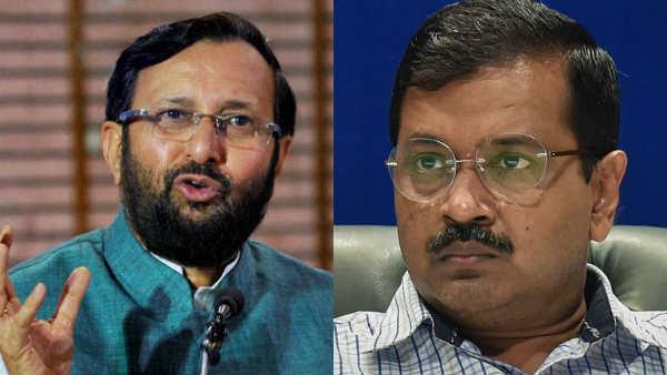 Prakash Javadekar calls Kejriwal a 'terrorist', AAP dares Centre to arrest him