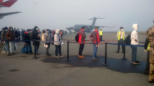 IAF aircraft brings back 76 Indians, 36 foreigners from coronavirus-hit Wuhan
