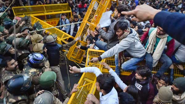 Entered Jamia Milia University to rescue trapped innocent students