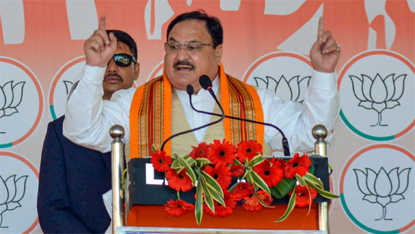 BJP National President JP Nadda