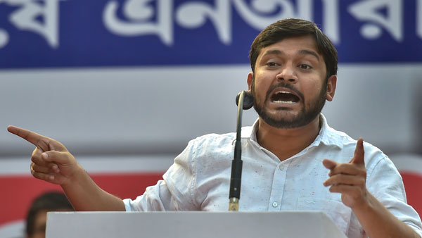 File photo of Kanhaiya Kumar