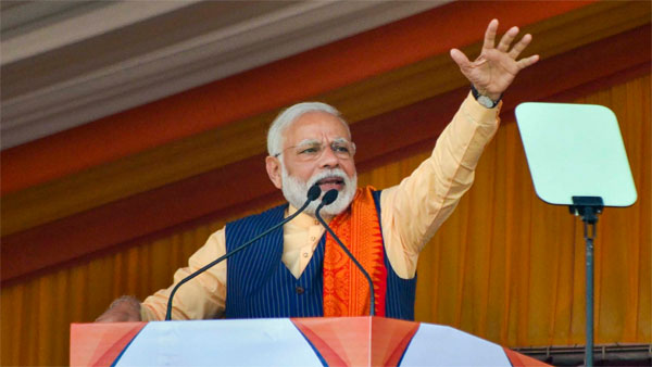 They talk about beating me...': PM Modi rakes up Rahul Gandhi's 'danda' remark at Assam rally