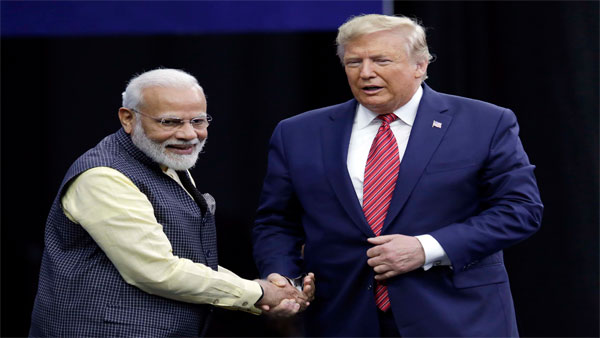 Trump in India; Trade deal off, but chopper pact on the table