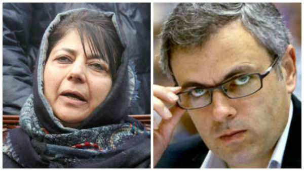Mehbooba Mufti, Omar Abdullah and two others booked under PSA