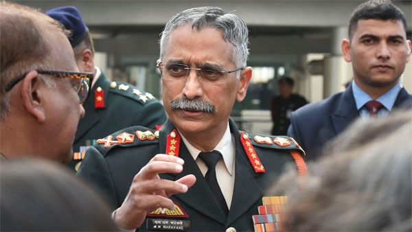 Indian Army chief General Naravane to visit Nepal in November