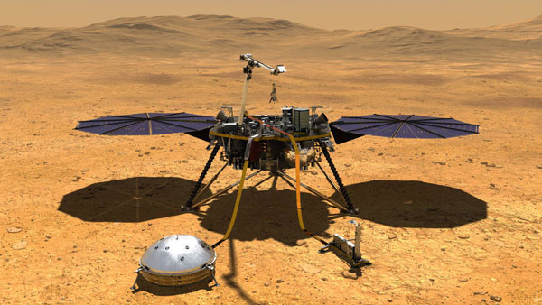 NASAs InSight lander helps decode Martian weather