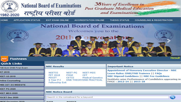 NEET PG Merit List for All India Quota Seats released