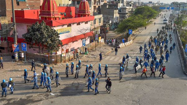 Delhi violence: Centre deploys 45 companies of paramilitary forces to restore law and order
