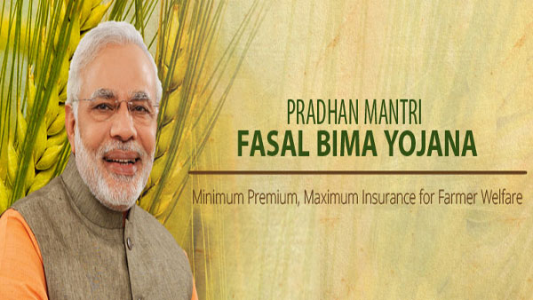 What is PM Fasal Bima Yojana' under which 6.11 crore farmers are insured?
