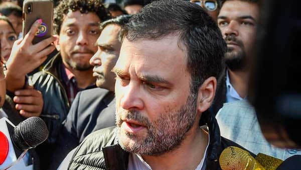 BJP orchestrated ruckus in parliament to prevent me from questioning govt: Rahul Gandhi