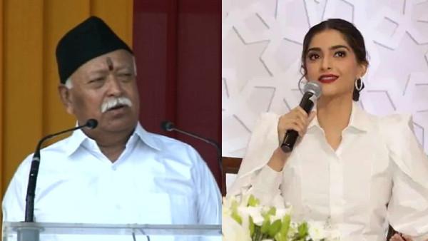 Sonam Kapoor tweets RSS chief Mohan Bhagwat's divorce remarks as