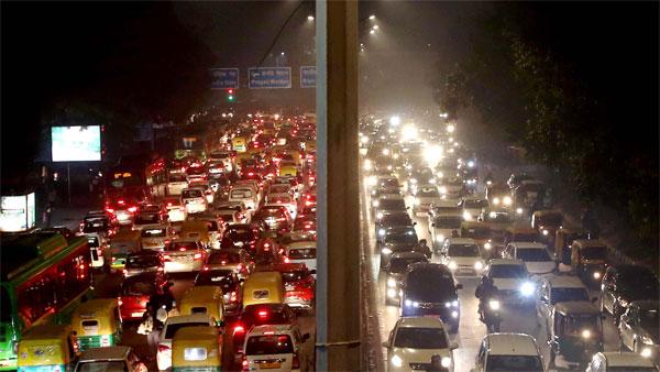 Trump in India: Traffic update in Delhi