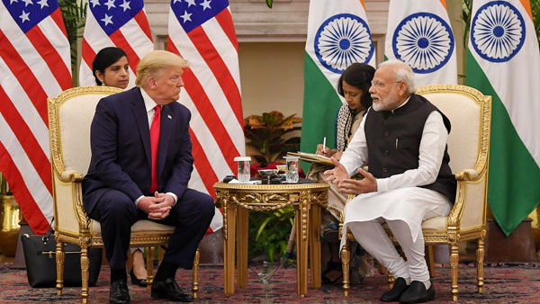 Trump-Modi sign 3 key MoUs; finalised billion defence deal