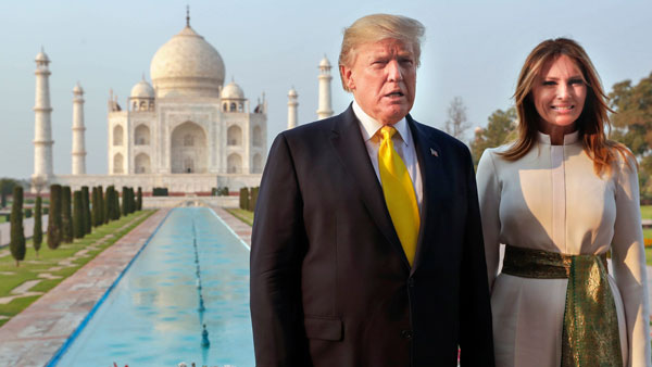 Top world leaders who visited the iconic Taj Mahal