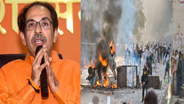 Shiv Sena lashes out at Centre, Home Ministry for Delhi violence during Prez Trumps visit to India