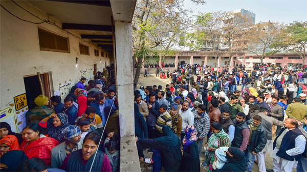 Voter turnout marginally better than 2019: Provisional figures of EC suggest