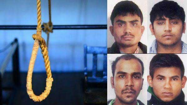 Nirbhaya convicts to be hanged on March 3 at 6 am