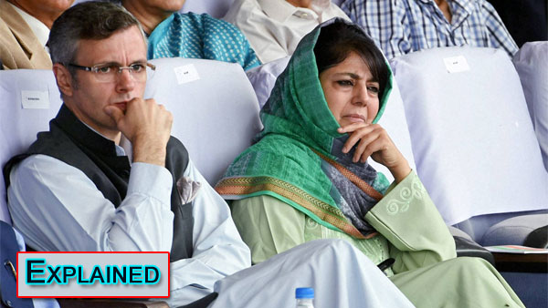 Explained: What the dossiers on Mehbooba, Omar Abdullah mean