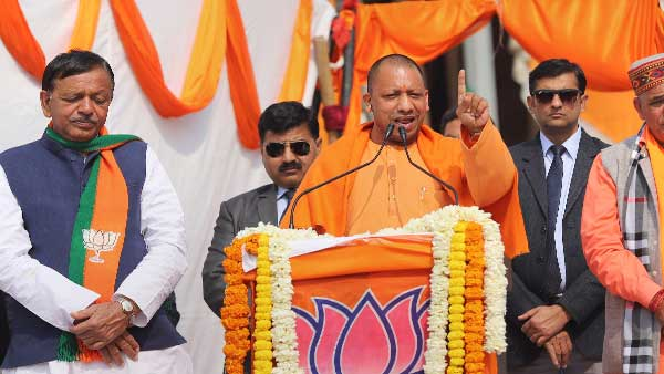 Their ancestors divided India: Yogi Adityanath slams anti-CAA protesters at Delhi rally