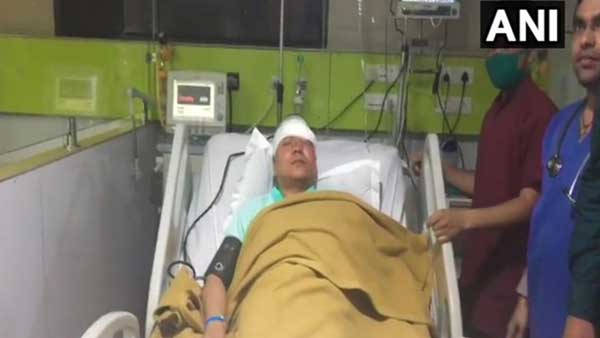 ADM injured after being hit with cricket bat