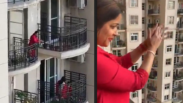 Coronavirus: After Italy, Gurgaon residents chant 'Gayatri Mantra' from balconies