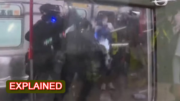 Explained: Did Chinese police brutally thrashed coronavirus victims in a metro station?
