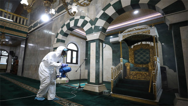 Religious services curbed in Middle East over virus fears