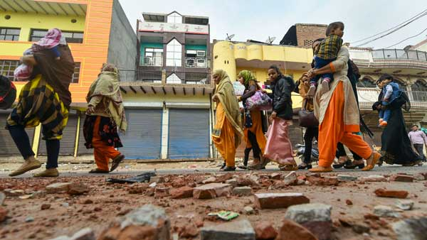 In Delhi, hopelessness and desperation takes over in riot hit areas