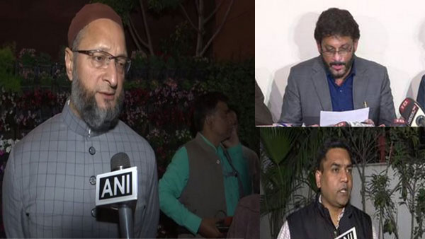 Hate speech: Telangana Police register FIR against Asaduddin Owaisi, Waris Pathan and Kapil Mishra