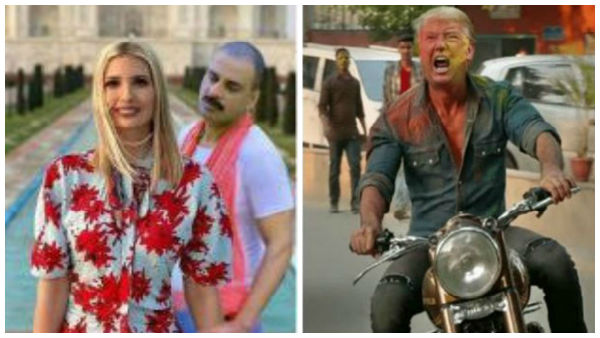 Twitterati has fun with memes after Ivanka Trumps photoshopped images at Taj Mahal goes viral
