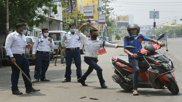 COVID-19 lockdown: Kolkata Police detain more than 450 people in West Bengal