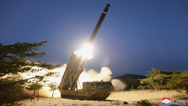North Korea says tested super-large multiple rocket launchers