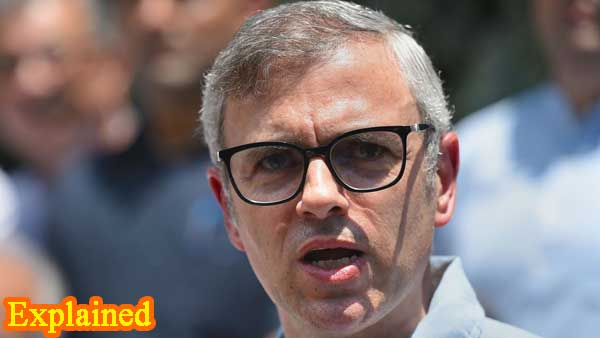 Explained: Why was PSA slapped against Omar Abdullah