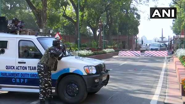 BJP MPs car touches boom barrier; Security scare reminds 2001 Parliament attack