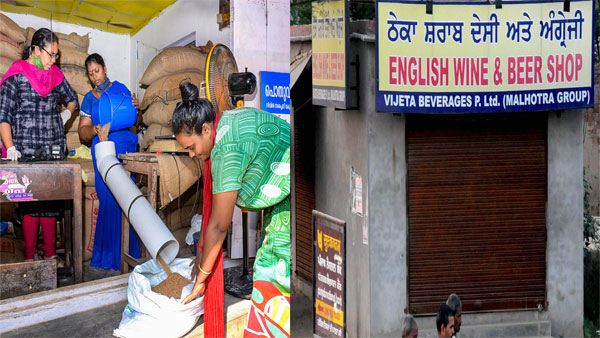 Coronavirus lockdown: Delhi govt distributes ration for next month; Liquor shop shut in MP