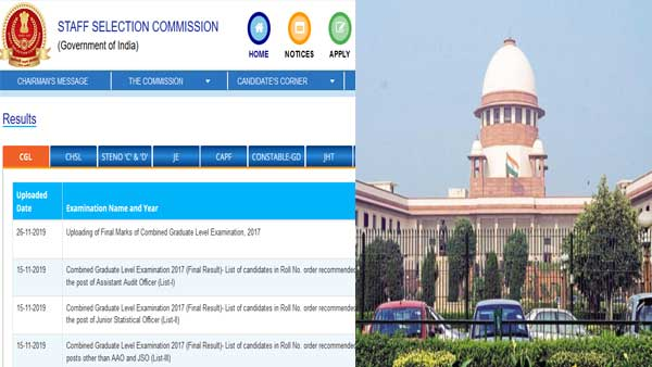 SSC CGL 2017 exam valid: What the Supreme Court said