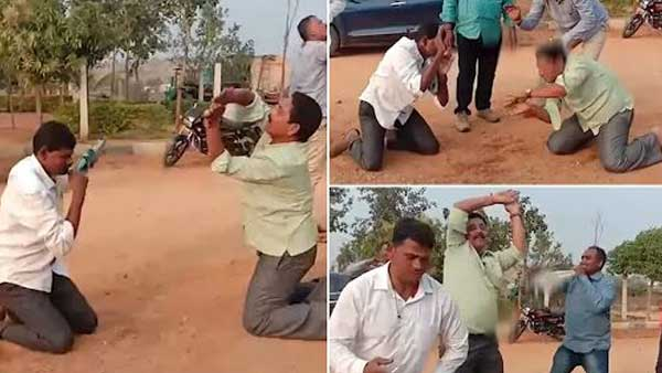 Caught on cam, Telangana cops performing snake dance after consuming liquor in Hyderabad