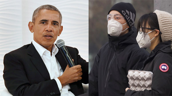 Save the masks for health care workers, stay calm: Barack Obama on Coronavirus