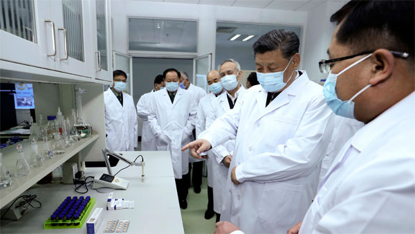 Chinese President Xi Jinping visits Wuhan for first time since coronavirus outbreak
