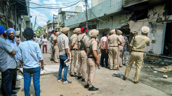 NIA files chargesheet against 9 in Tarn Taran blast case