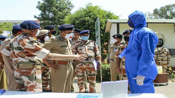 ASI in Delhi police tests positive for coronavirus