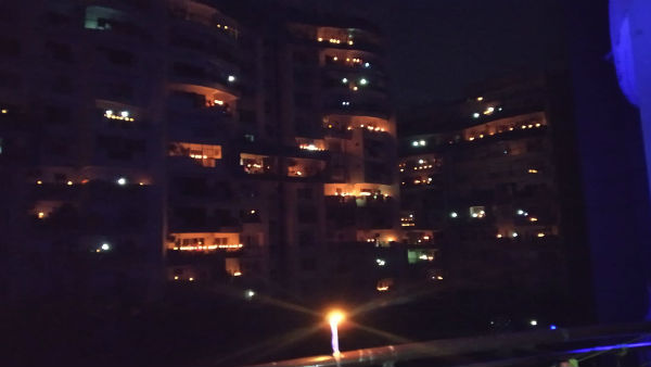 At 9 pm for 9 minutes: Millions of Indians light candles, diyas, turn on mobile flash lights