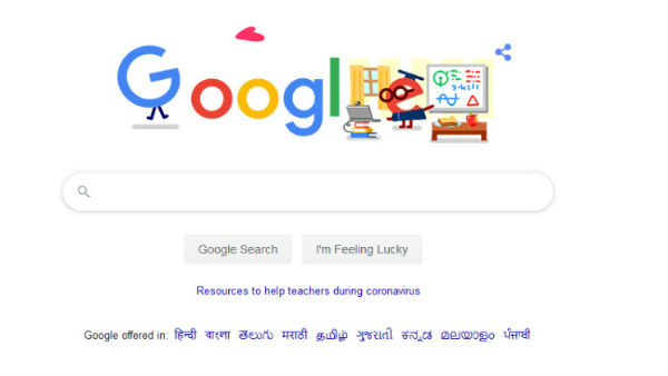 COVID-19: Google Doodle thanks all teachers and child care workers