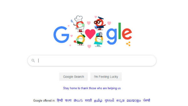 Google thanks all helpers in its final coronavirus doodle