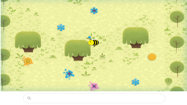 Earth day 2020: Google Doodle celebrates the busy bees