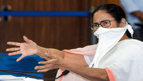 Nandigram shows Goback Mamata, after Banerjee announces to contest from here