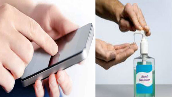 Are hand sanitisers safe for your mobile: Here is the right way to clean a phone