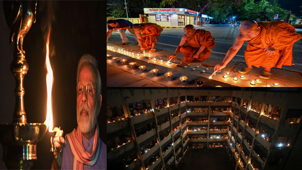 How lighting candles, diyas and flashlights supported the fight against COVID-19
