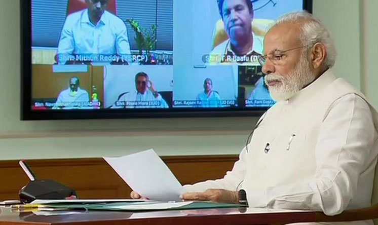 Coronavirus lockdown may have to be extended: PM Modi at all-party meet